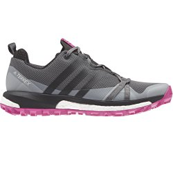 Adidas Size 7 Womens Terrex Agravic in Grey & Pink