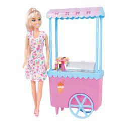 Caylee Blonde Ice Cream Cart
