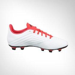 Adidas Men's Predator 18.4 Fg White black coral Boot