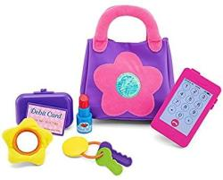 USA Kidoozie My First Purse Fun And Educational For Toddlers And Preschoolers Encourages Safe Play