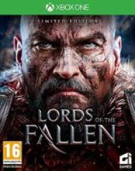 Square Enix Lords Of The Fallen - Limited Edition Xbox One Blu-ray Disc