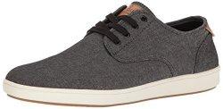 Steve Madden Men's Fenta Fashion Sneaker Black Fabric 11 M Us
