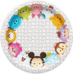 USA American Greetings Tsum Tsum Paper Dessert Plate 8 Count