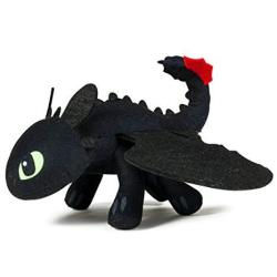 """Dreamworks Dragons Action Dragon 8"""" Plush Toothless Action Figure"""