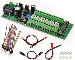USA PCB012 1SET Power Distribution Board Self-adapt Distributor Ho N O LED Street Light Hub Dc Ac Voltage Train Power Control