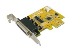 Sunix 2-PORT RS-232 High Speed PCI Express Low Profile Board With Power Output