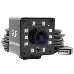 USAB Elp Camera USB 1080P Wide Anagle Fisheye 170DEGREE Ir LED Infrared Webcam Camera With MINI Housing USB Camera For Linux Windows Android Mac Os