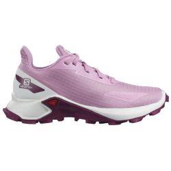 Salomon Kids Alphacross Blast Trail Running Shoes - Orchid