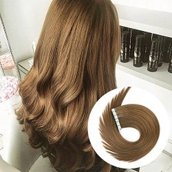 YILITE Tape In Human Hair Extensions 16 Inch