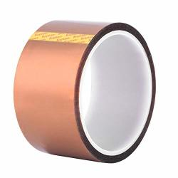 High Temperature Tape 33M0.06MM Heat Resistant Adhesive Tape 50MM Width Multifunctional High Insulation 250-300? Heat Resistant