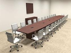 Modern Boat Shaped 28' Feet Conference Table OF-CON-C102