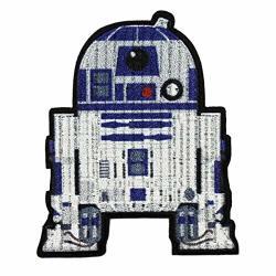 Loungefly Star Wars The Phantom Menace R2D2 Emoji Logo Iron On Patch