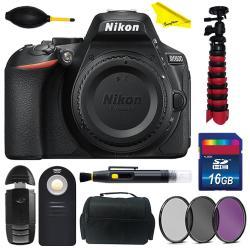Nikon D5600 Dslr Camera Body Only With Buzzphoto Basic Accessories Kit | R  | Electronics | PriceCheck SA