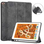 """Juqitech Ipad MINI 5 7.9"""" 2019 Case With Pencil Holder Flexible Soft Tpu Back Smart Cover Case With Auto Sleep wake And Viewing"""
