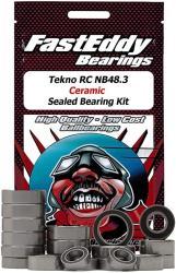 USA Tekno Rc NB48.3 Ceramic Sealed Bearing Kit