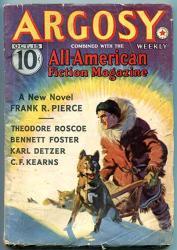Argosy Pulp Oct 15 1938- Captain Hornblower-frank Pierce--cs Forester Vg
