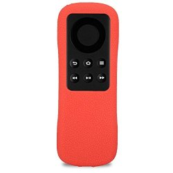 Fosa Protective Case For Amazon Fire Tv Stick Light Weight Anti Slip Shockproof Silicone Cover For Amazon Fire Tv Red