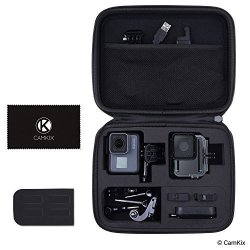CamKix Case For Gopro Hero 6 5 Black - Perfect For Travel And Storage - Versatile Eva Interior With Precise Fit Cut