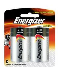 Energizer 2 Pack Max-d Batteries
