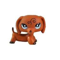 MEIDEXIAN888 Toys MEIDEXIAN888 Figure Toy Dog Lps Pet Shop Cream Toy Party Decorations Brown