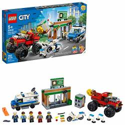 LEGO CITY Police Monster Truck Heist 60245 Police Toy Cool Building Set For Kids New 2020 362 Pieces