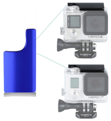S-Cape Replacement Aluminum Latch - Blue For GoPro 3+ GoPro 4