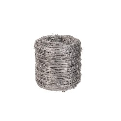 Leroy Merlin Barbed Wire Steel Lightly Galvanised 270M African Gate