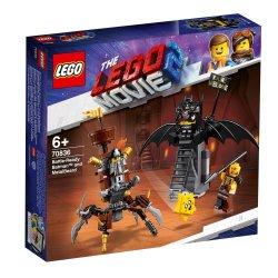 Lego The Movie 2 Battle-ready Batman And Metalbeard