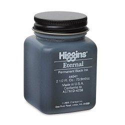 Sanford Higgins Eternal Black Writing Ink 2 1 2 Oz. Black