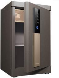 USA Wall Safes Electronic Home Safe With Medium Home Fingerprint Password Safe Anti-theft All-steel Safe Deposit Box Cabinet Safes Color : Brown Size :