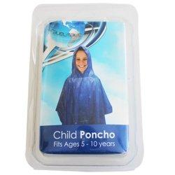 TravelMate Poncho Child Blue