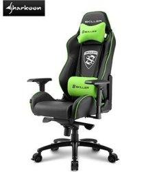 Sharkoon Skiller SGS3 Gaming Seat Black green Retail Box 1 Year Warranty