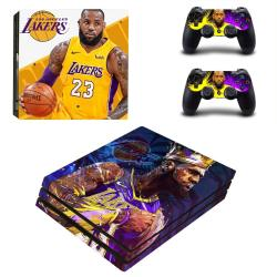 Vanknight PS4 Pro Playstation 4 Pro Console Skin Set Vinyl Decal Sticker 2 Controllers James Pro Only