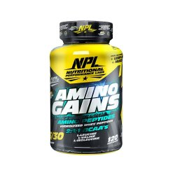 NPL Nutritional Performance Labs Amino Gains - 120 Caps