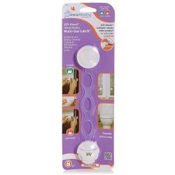 Dreambaby Ezy-check Multi-use Latch - White