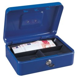 Rottner Tresor Traun 3 Cash Box in Blue