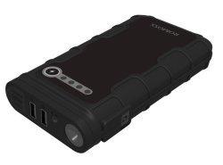 Romoss Jump Starter 12000mAh Power Bank with Flash Light in Black