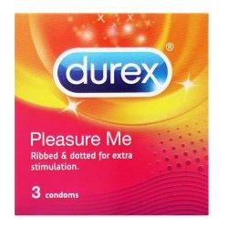 Durex Pleasure Me Condoms 3 Pack