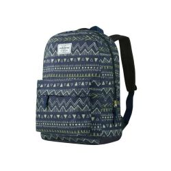 Volkano Diva Series Backpack in Navy Aztec