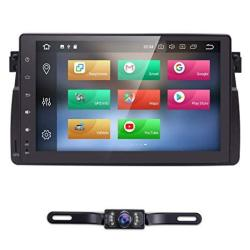 HIZPO Android 8.0 9 Inch Car Radio Stereo Player Gps Fit For Bmw E46 3 Series 1998-2005 Support Multimedia Bluetooth 4.0 Wifi Rd