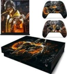 Decal Skin For Xbox One X: Scorpion Fire