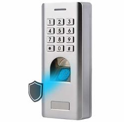 Waterproof IP66 Biometric Fingerprint Reader+password Access Control System Entry Door Lock Multiple Fingerprint pin Access