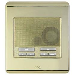 Legrand-On-Q On-q Selective Call Intercom - Outdoor Station Selective Call Patio Unit Shiny Brass IC5004-SB