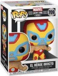 Pop Marvel Lucha Libre Edition: El Heroe Invicto Figure