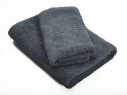 Dreyer Snag Free 600GSM Grey Bath & Hand Towel Set - Pack Of 2