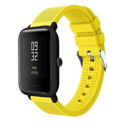 Senter For Xiaomi Amazfit Bip Younth Band 20MM Soft Silicone Sport Replacement Strap Band For Xiaomi Huami Amazfit Bip Younth samsung Gear Sport garmin Vivoactive 3