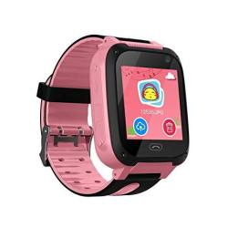 Themoemoe Kids Gps Smartwatch Anti-lost Sos Smart Watch Bracelet For Children Girls Boys With Camera Pedometer Compatible For Ip