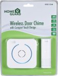 Homeguard WDA530 Wireless Door Chime With Compact Touch Design