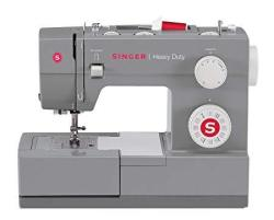 Singer Heavy Duty 4432 Sewing Machine With 32 Built-in Stitches Automatic Needle Threader Metal Frame And Stainless Steel Bedpla
