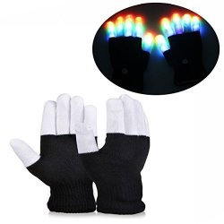 DIMY Teen Boys Gifts Flashing Gloves Gifts For Teen Girls Birthday Present Boys 11 Years Old 7 Years Old G03